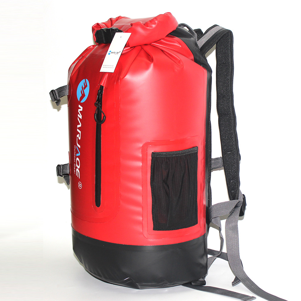 30L PVC Impermeable Swimming Waterproof Backpack B...