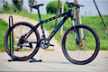 26 inch no folding bike  bicycle disc brakes mountain bike steel frame MTB can upgrade 24  or 27 speed 160-185cm