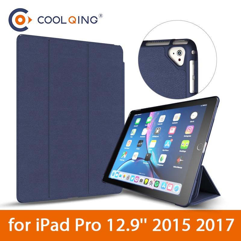 Smart Case for iPad Pro 12.9 2017 2015 iPad Pro 12.9 Ultra-slim Intelligent Flip PU Leather Case For iPad Pro With Sleep/Wake upSmart Case for iPad Pro 12.9 2017 2015 iPad Pro 12.9 Ultra-slim Intelligent Flip PU Leather Case For iPad Pro With Sleep/Wake up