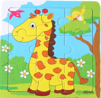 Wooden Child Educational Puzzles Animal Traffic Wooden