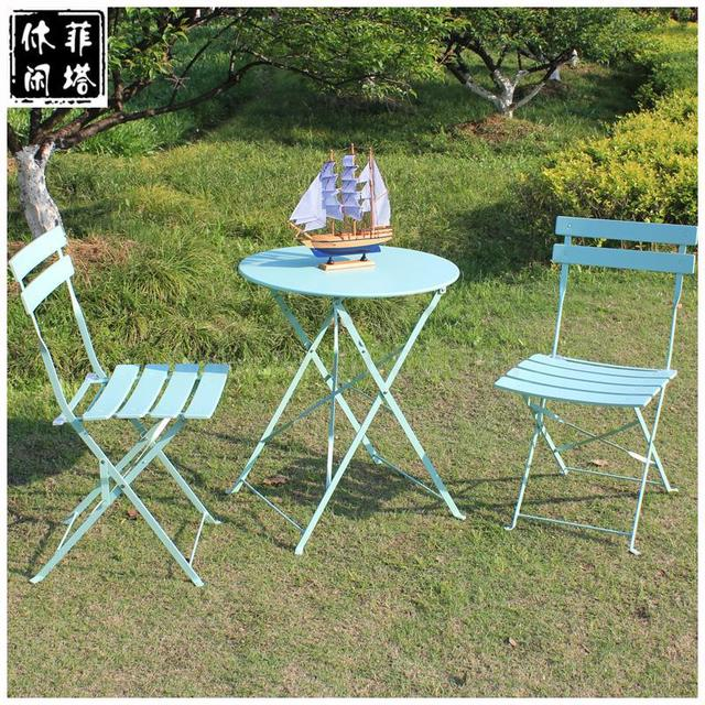 Imitation Vine Outside Table And Chair