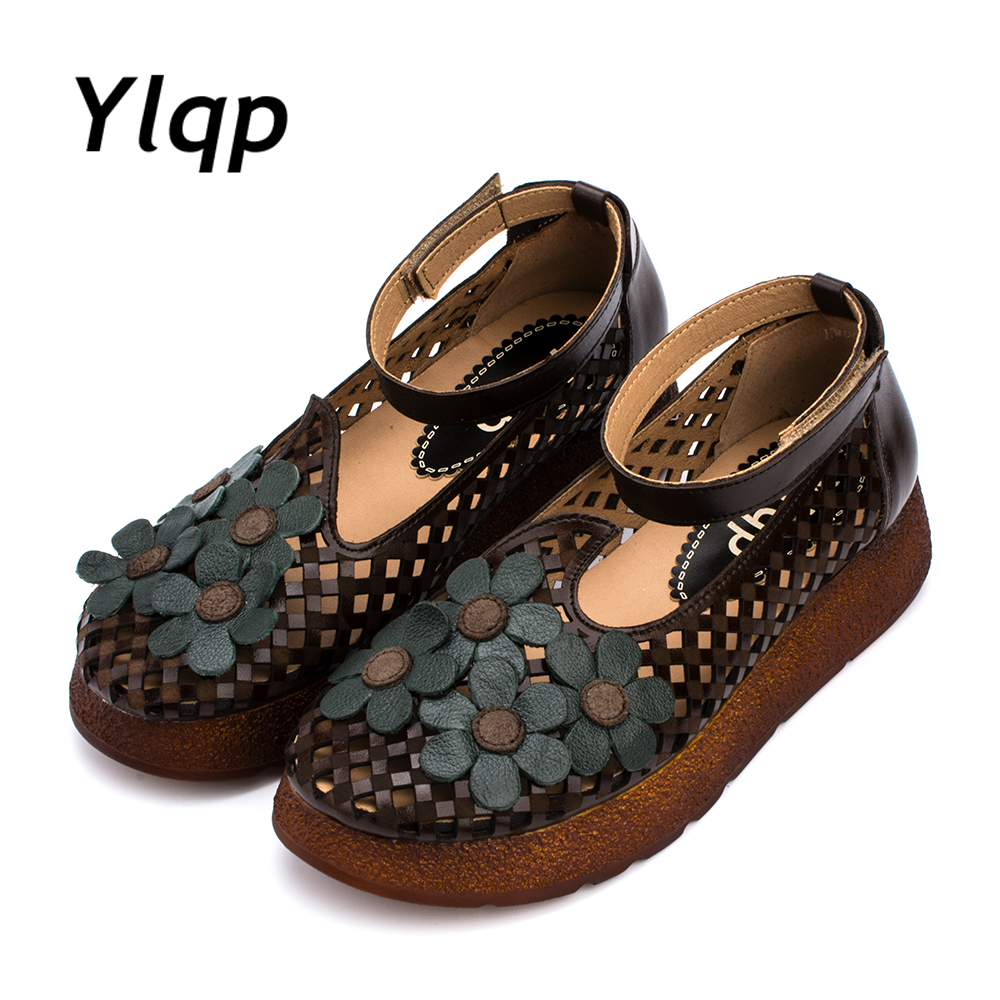 Summer Shoes Thick Sole Women Sandals 2017 Fashion Genuine ...