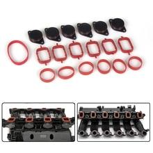 Diesel Swirl Flap Blanks Intake Manifold Gaskets Repair Replacement Kit 6 x 33mm For BMW M57