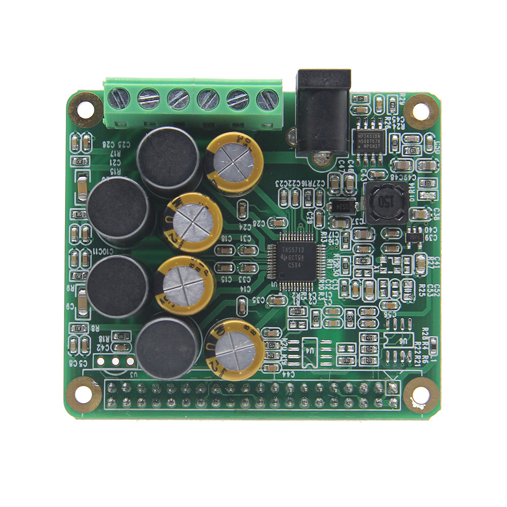 Raspberry Pi HIFI AMP Amplifier Expansion Board Audio Module For Raspberry Pi 3 Model B / Pi 2B / B+