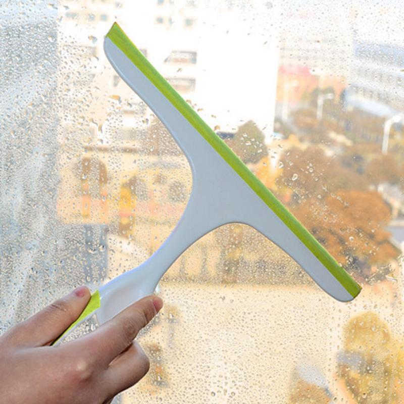 Friendly Glass Wiper Tools Shower Car Wash Home Soft Grip Multifunction Doors Window Cleaning Bathroom Squeegee Scratches Eco