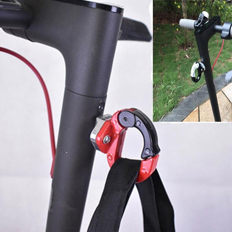 Xiaomi Mijia M365 Elektrische Roller Vorderen Haken Aufhänger Helm Taschen Klaue Skateboard Werkzeuge Flasche Gepäck Fracht Träger