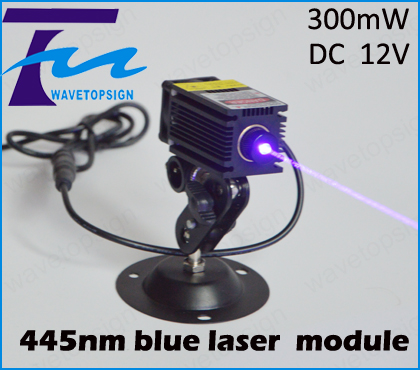 445nm blue laser module 300mw input dc 12v can work long time industrial use om zfv sc90 140605 industry industrial use automation plc module p v