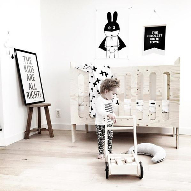 Cute Rabbit Animal DIY Wall Sticker For Kids Room Removable Wallpaper Living Rooms Poster Minimalism Nordic