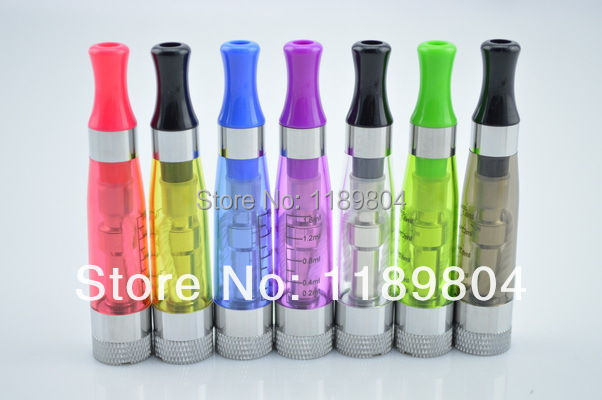 leiqidudu 10PC CE5 Ce6 atomizer 1.6ml colorful cartomizer ego clearomizer tank rebuildable plus fit ego t ce4 plus CE5