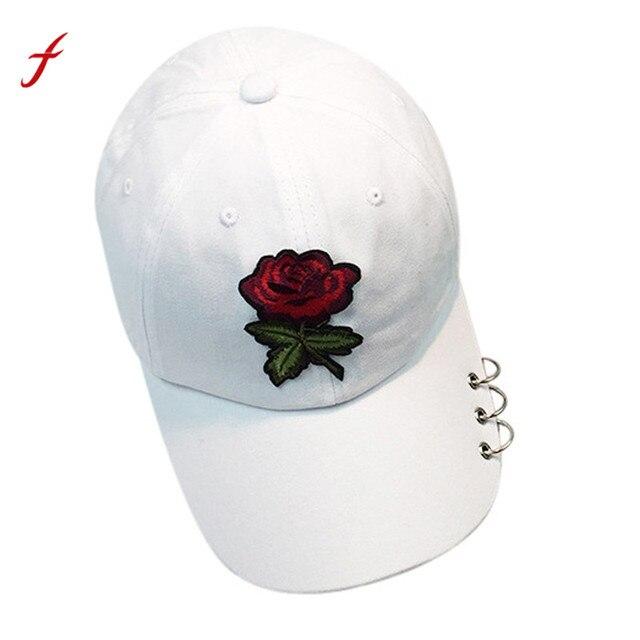 Mujeres Hombres pareja Rosa gorra de béisbol unisex SnapBack hip hop sombrero  gorras de béisbol ajustable 01d819c1492