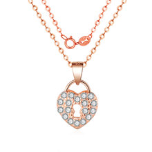 Hot Sale Fashion Necklace 2019 CZ Zircon Women 925 Silver Flower Chain For Jewelry Gifts Dropshipping