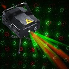 Mini projecteur lampe LED disco Laser de décoration de noël, lumière son pour Dj fête spectacle de noël