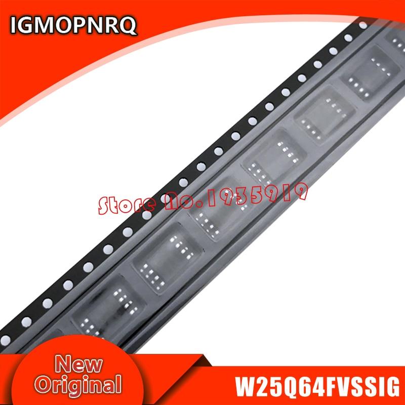 5 шт. W25Q64FVSSIG W25Q64FVSIG 25Q64FVSIG 25Q64 SOP чип для ноутбука новый оригинальный|Интегральные схемы|   | АлиЭкспресс