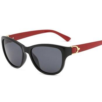 2020 Luxury Brand Design Cat Eye Polarized Sunglasses Men Women Lady Elegant Sun Glasses Female Driving Eyewear Oculos De Sol - C3