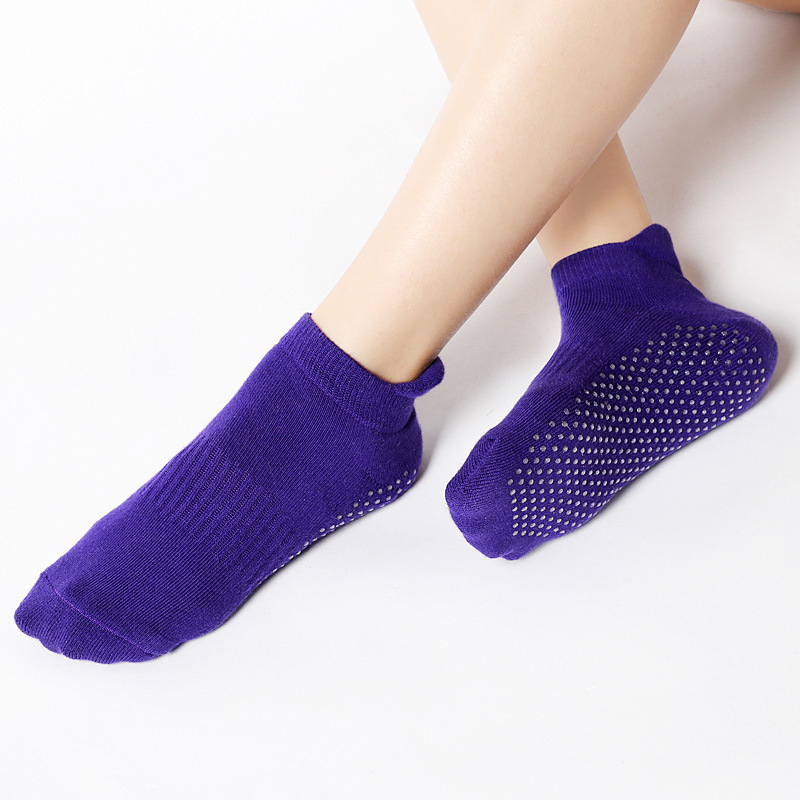 Women Yoga Socks Pilates Dance Ballet Sport Anti Slip Cotton Towel Sock Slippers Gym Fitness Woman Footwear calcetines ciclismo in Yoga Socks from Sports Entertainment