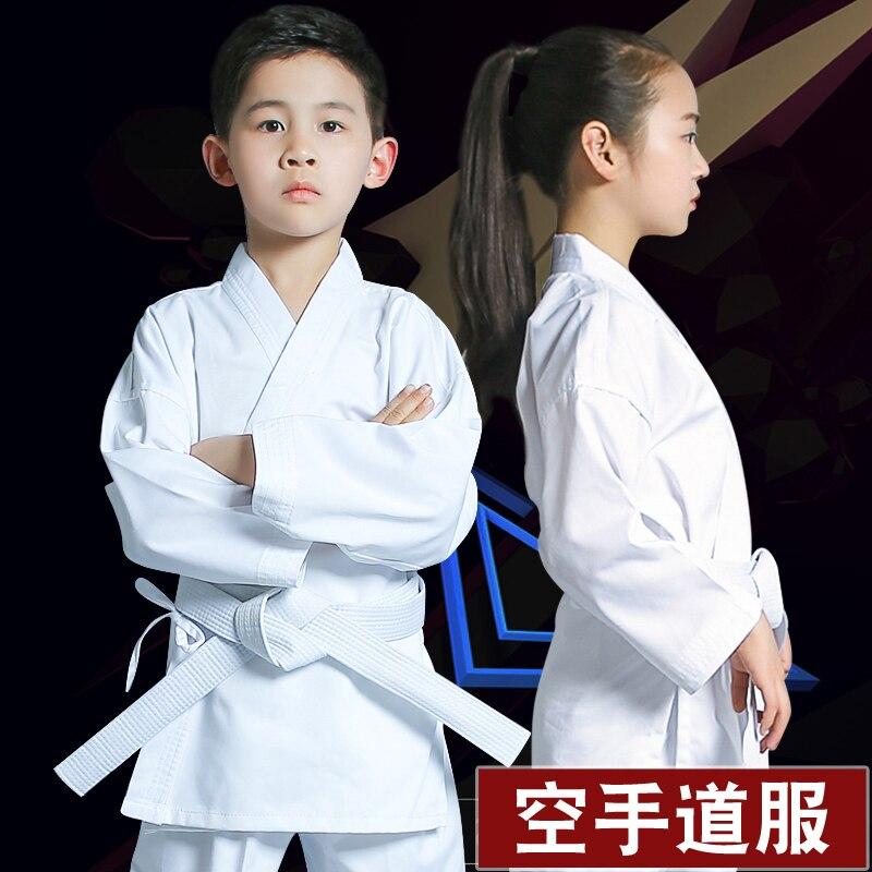 Karate Dress Child Adult Suitable White Suits Professional Uniform Cotton Comfortable Breathable XXXS-XXL