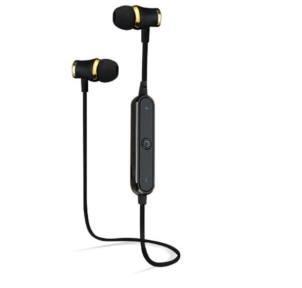 New Sports Waterproof 4.1 Bluetooth Headset Stereo Wireless Earphone Music Headphone With Microphone For All Phone цена и фото