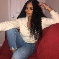 Moxie Deep Wave Hair Extension Wigs Malaysia Deep Wave Lace Frontal Wig 4x4 & 13x4 Lace Closure 100% Human Hair Lace Front Wigs