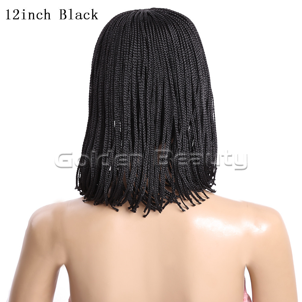 12-Black 210g #1 1B 2 Box braid wig (5)