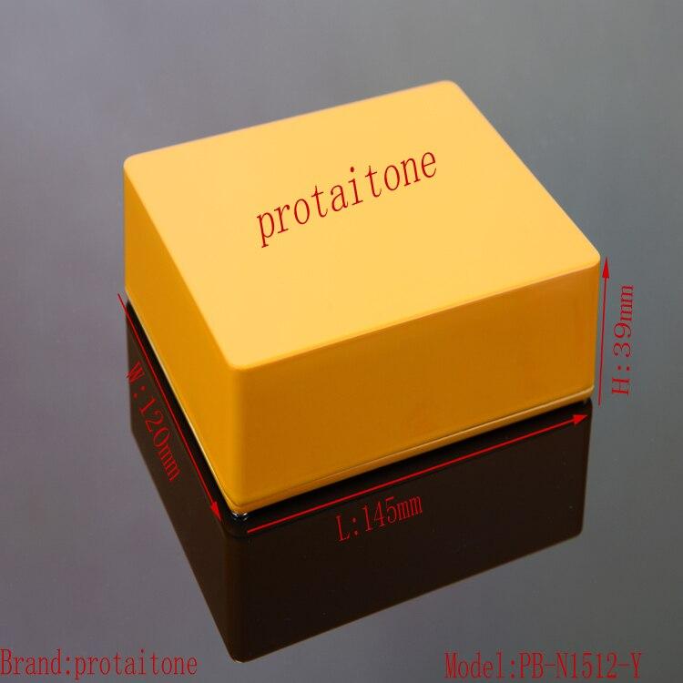 5pcs/lot PB-N1512-Y Free Shipping Professional DIY Aluminum Metal EFFECT PEDAL BOX, 145 (L) x120 (W) x39 (H) mm kid's box upd 2ed pb 1