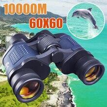 Телескоп 60X60 HD бинокль высокой четкости 10000 м высокой мощности для охоты на открытом воздухе оптический Lll Бинокль ночного видения фиксированный зум