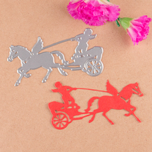 Angels and carriages die cutting dies for DIY Scrapbooking Photo Album Decoretive Embossing Stencial