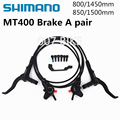2019 neue Shimano Mt400 M446 M447 Bremse Mountainbike Hydraulische Disc Bremse Mtb Links & Rechts 800/850. 1450/1500mm M445 Mt200 Bremsen