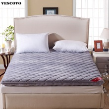 Double air mattress foldable massage matrassen fleece memory foam mattress for home/Five Star Hotel fast Shipping