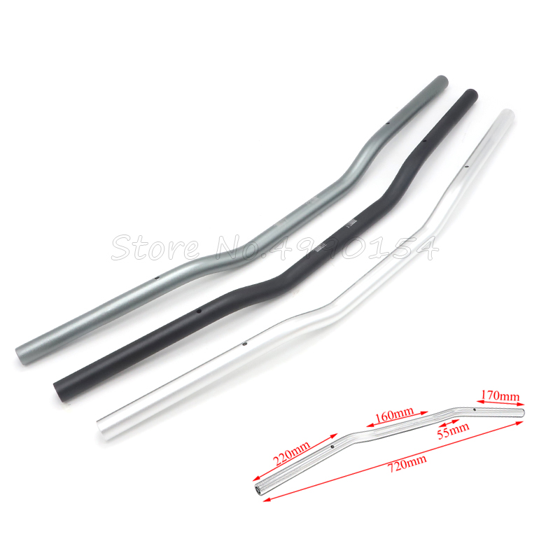 Universal For Suzuki Custom Motorcycle Handlebar 7 8inch 22mm Chopper Cafe Racer Handlebar High-Rise Drag Bar Cruiser Bobber