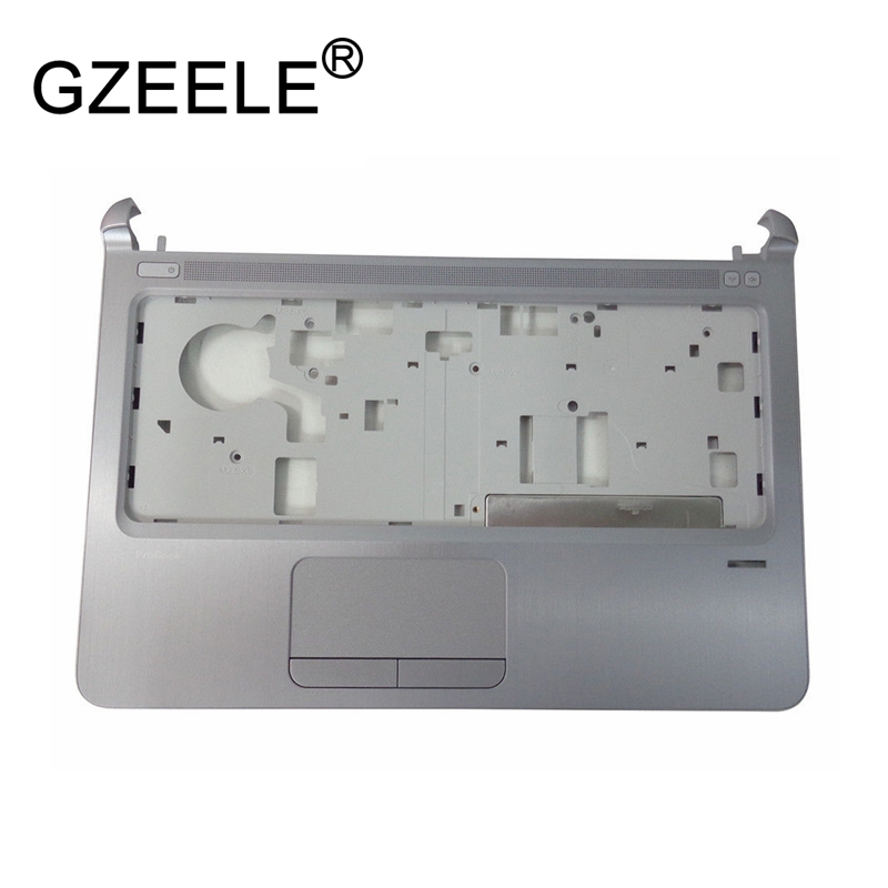 GZEELE New for HP ProBook 430 G3 Silver Palmrest w/ Touchpad 826394-001 upper case keyboard bezel laptop Top cover new top cover upper case for hp 450 455 palmrest 685762 001 6070b0591701 gray