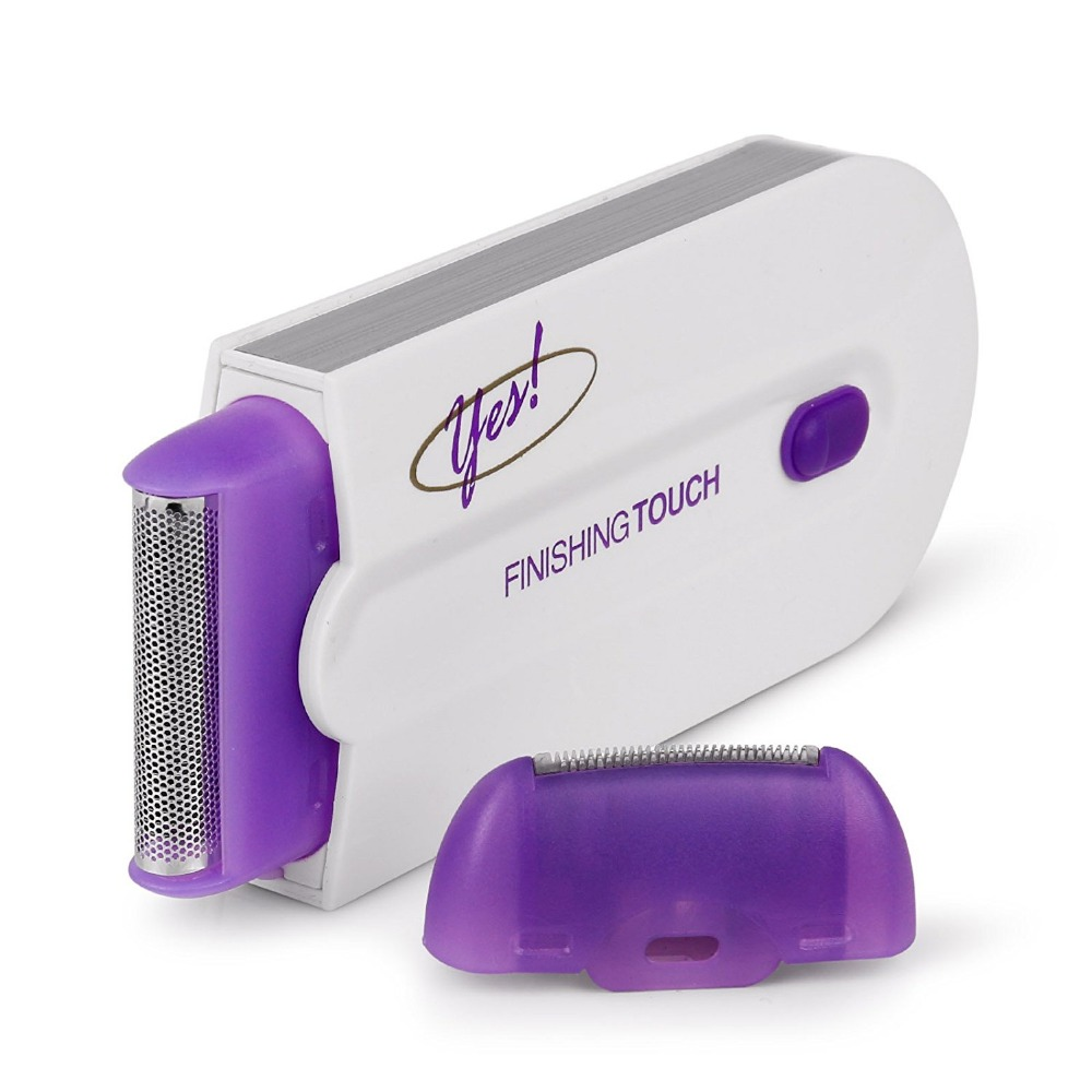 Razor Epilator Rechargeable Finishing Touch Hair Remover Instant Pain Free Laser Sensor Light Safely Hair Removal Tools