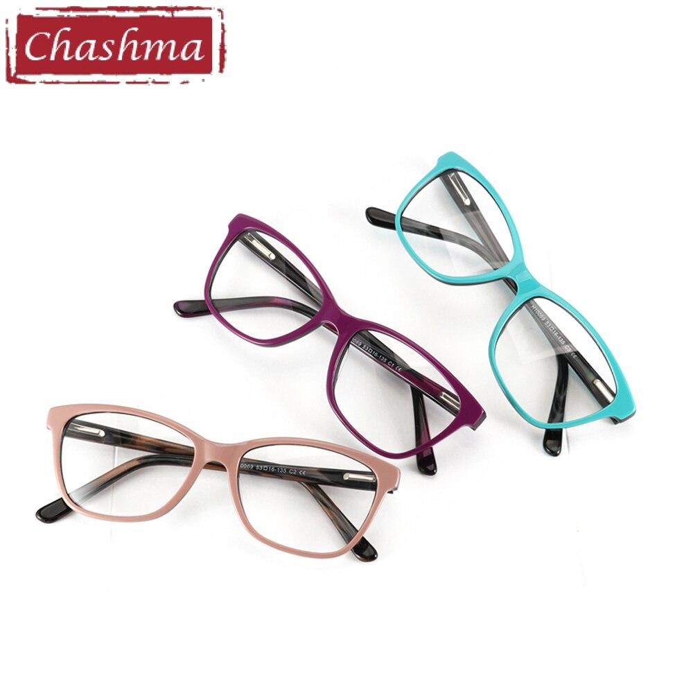 1ae99fda9c Chashma Brand Acetate Material Female Eyewear Fashion Trend Stylish  Students Prescription Glasses Frame Mens Optical Eye Glasses-in Eyewear  Frames from ...