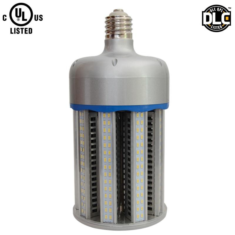 Full power aluminum alloy 130lm/w E40 E39 DLC UL 100w led corn light bulb eplace e40 e39 400w metal halide hps lamp