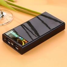 Внешний аккумулятор, светодиодный светильник, 4 usb порта, цифровой дисплей, сделай сам, сварочный внешний аккумулятор, комплекты, питание от 6x18650 батарей