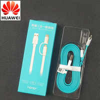 Original 150cm 2in1 noodles Huawei Charger Cable For p20 p10 p9 mate 10 20 lite Nova 3 3i 2 2i honor 8 9 p8 y6 8x 7x