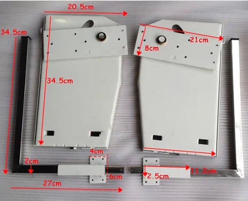 DIY Мерфи механизм настенной кровати с 9 пружинами комплект оборудования для кровати складной механизм кровати для 1,2 1,8 м кровати