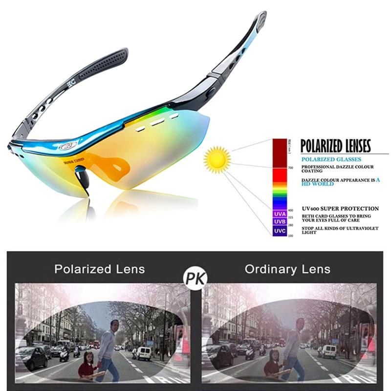 BASECAMP Cycling Glasses Polarized Sports Sunglasses UV400 Bicycle Eyewear Fishing Running Golf Glasses 6 Lens MTB