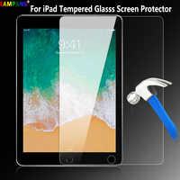 Gehärtetem Glas für iPad 2/3/4 Air 1 2 Pro 9,7 11 10,5 9,7 2017 2018 Pro 12,9 2015 2017 10,2 2019 mini 2 3 4 5 Screen Protector