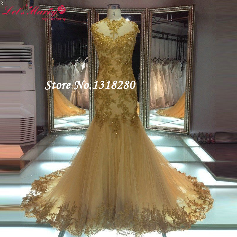 Buy elegant hot sale african gold lace for African lace wedding dress