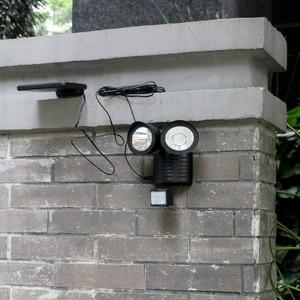 Image 4 - 450 LM 22LED Sunlight Wall Solar Lamp Outdoor Solar Lights for Garden Decoration Waterproof Led Light Motion Sensor