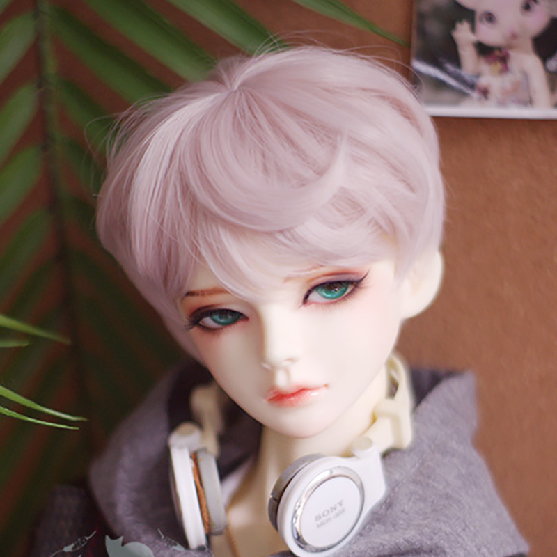BJD Fire lips Black Hoody T Outfits For Male SD17 70cm Uncle Doll DK DZ AOD doll