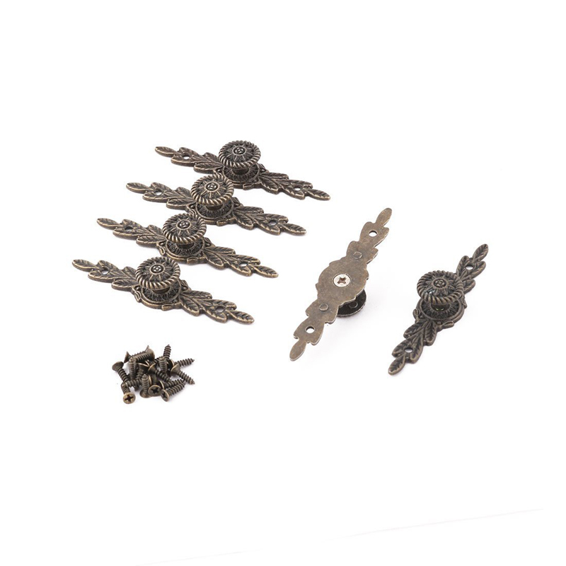 30Pcs 64*14MM Bronze Tone Cabinet Knobs Drawer Handles Cupboard Pulls Box Handle With Screws For Furniture Hardware