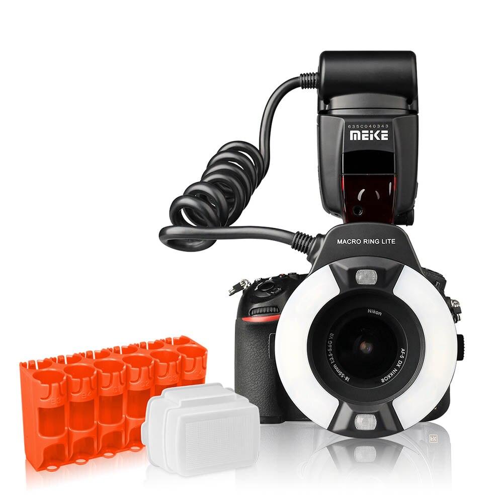 MEIKE MK-14EXT-N Anello di Luce del Flash Speedlite GN14 Per Nikon D80 D300S D600 D700 D800 D800E D3000 D3100 D3400 D5000 D5100 d7000