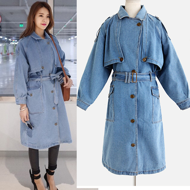 Plus Size Trench Coat Dress