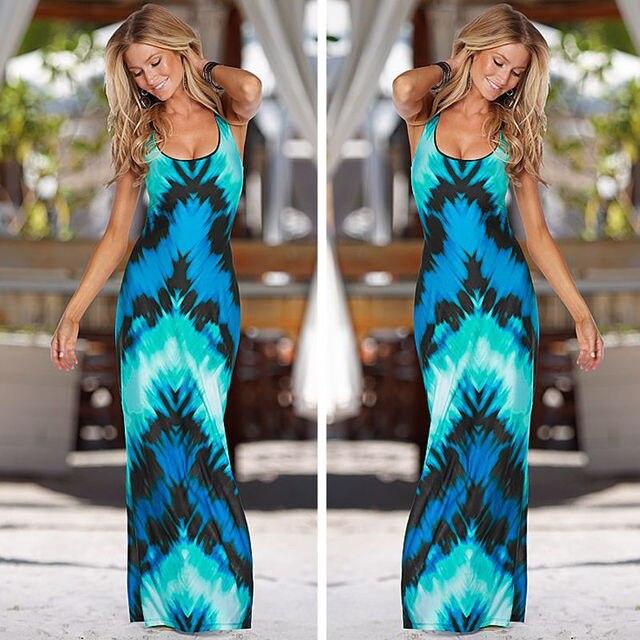 Summer Maxi Sun Dress