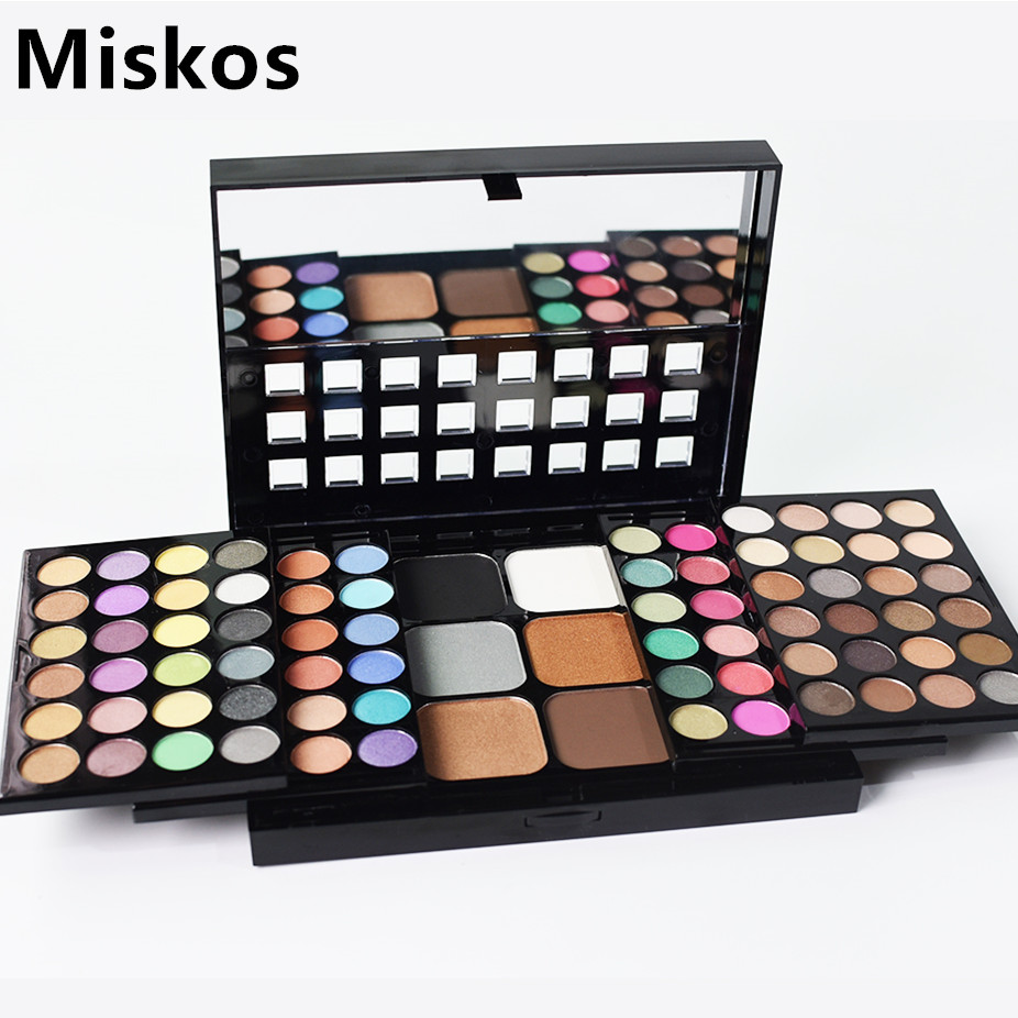 78 Colors Eyeshadow Makeup Set Box Cosmetics Palette Makeup Kits For Women Concealer Blush Powder Kit Maquiagem Make Up Palette