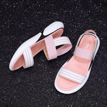 CPI Thể Thao Mùa Hè Giày Sandal Nữ Giày Đế Người Phụ Nữ Giày PU Thoáng Khí Giày Lười cho Đáy Dày Gót Dây Leo EE-126