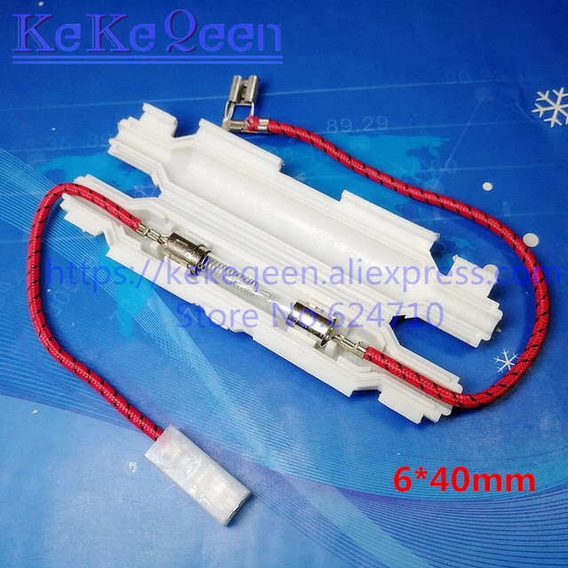 50PCS/LOT Universal Microwave Oven high voltage fuse holder with glass fuse 6*40mm 5KV 5000V 0.6A 0.65A 0.7A 0.75A 0.8A 0.9A 1A