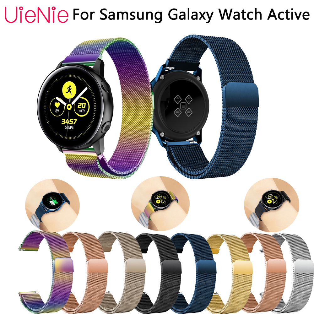 20mm Frontier classic strap for Samsung Galaxy Watch Active smart band Gear S2 bracelet