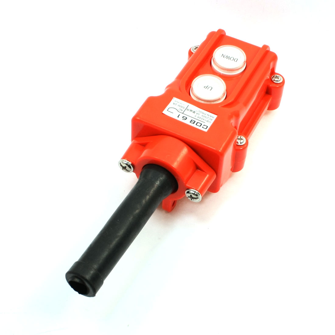 цена на COB-61 Up Down Rainproof Hoist Push Button Switch for Hoist Crane Control 250V 5A
